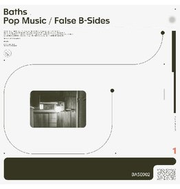 New Vinyl Baths - Pop Music/False B-Sides (Colored) LP
