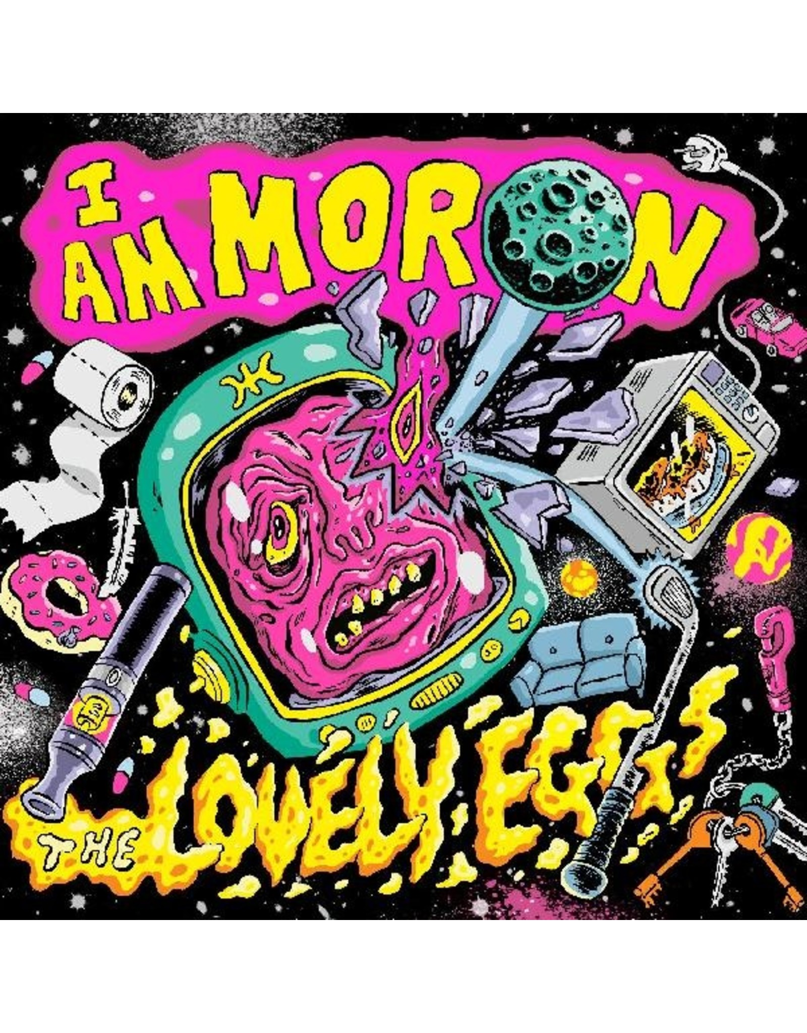 New Vinyl The Lovely Eggs - I Am Moron (Colored) LP