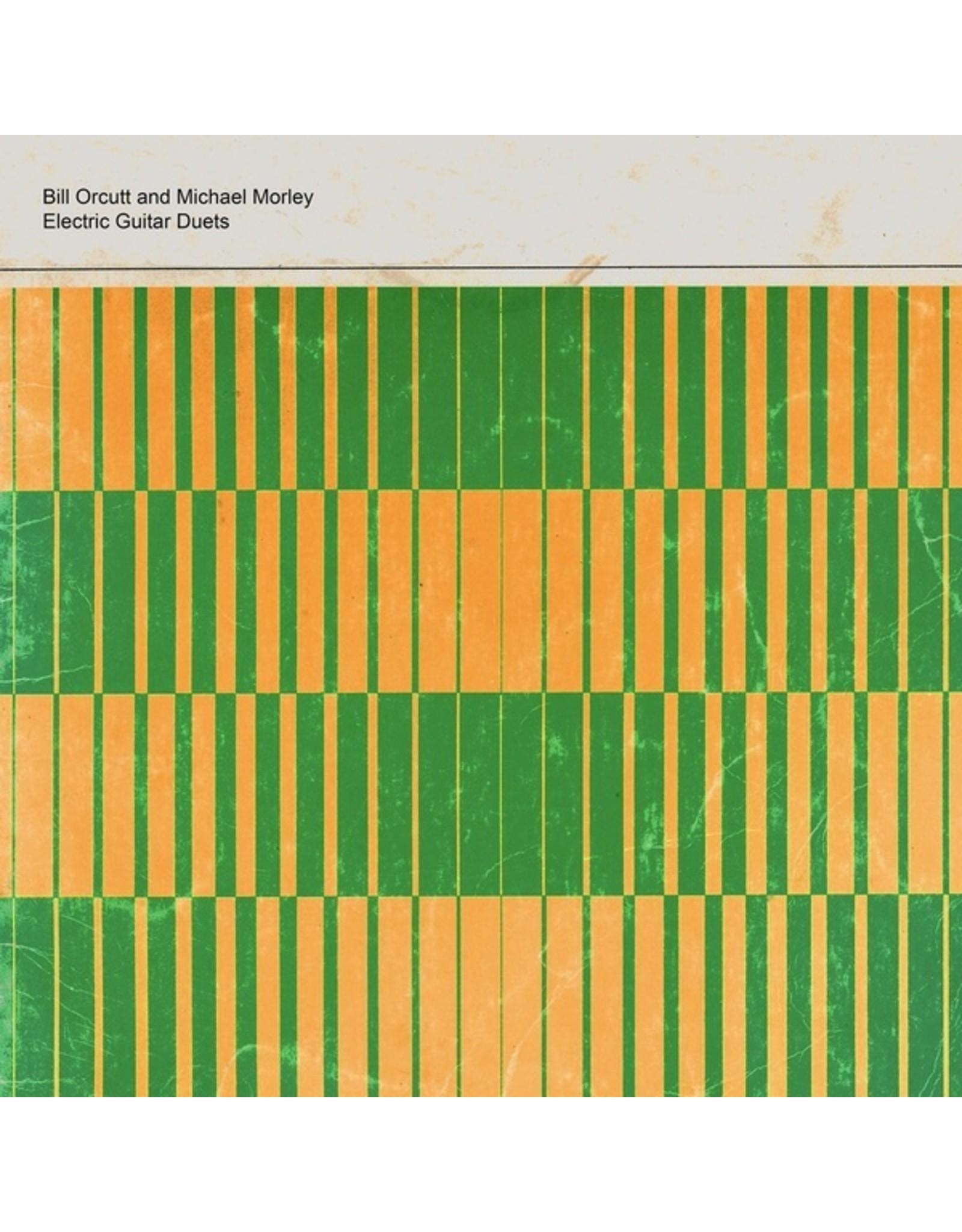 New Vinyl Bill Orcutt & Michael Morley - Electric Guitar Duets LP