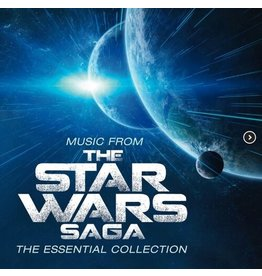 New Vinyl John Williams - Music From The Star Wars Saga: The Essential Collection (Colored) 2LP
