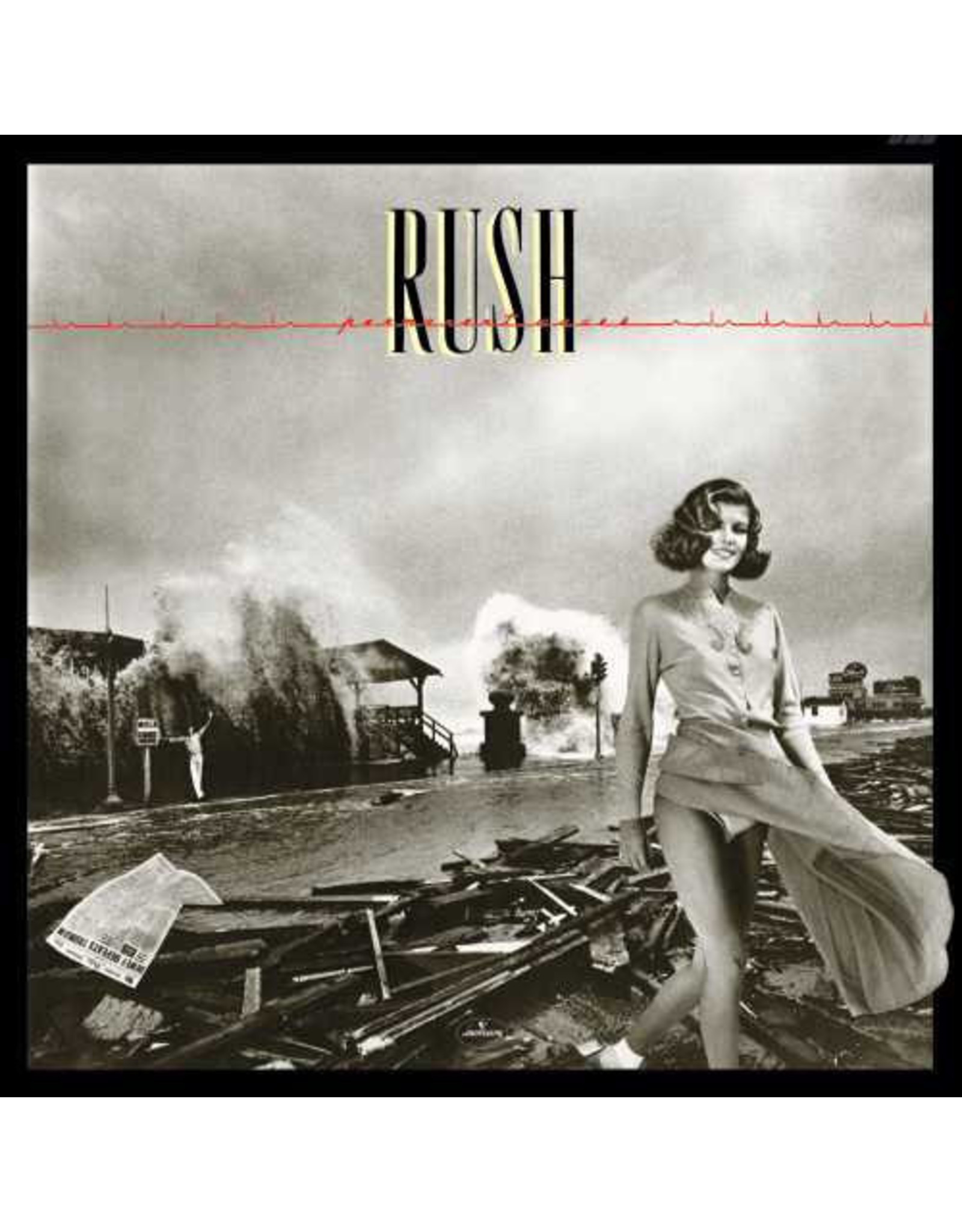 New Vinyl Rush - Permanent Waves LP