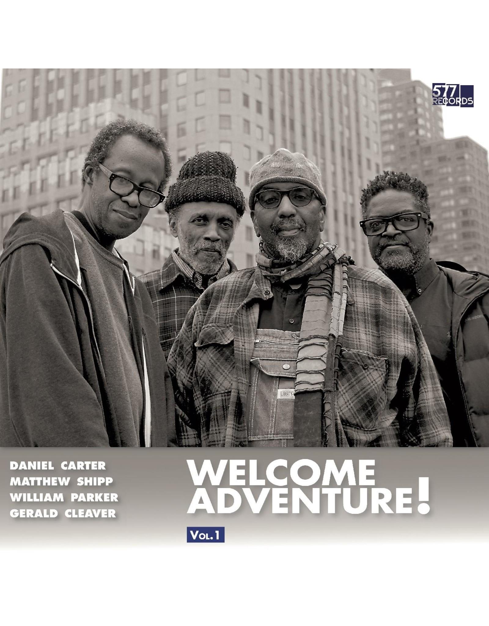 New Vinyl Daniel Carter, Matthew Shipp, William Parker, Gerald Cleaver - Welcome Adventure Vol. 1 LP