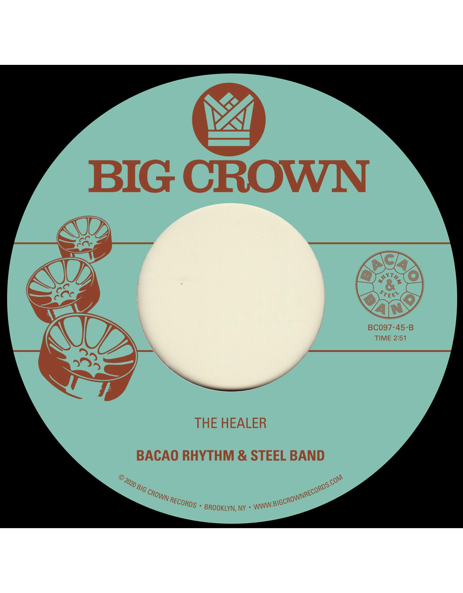"New Vinyl Bacao Rhythm & Steel Band - My Jamaican Dub b/w The Healer 7"""