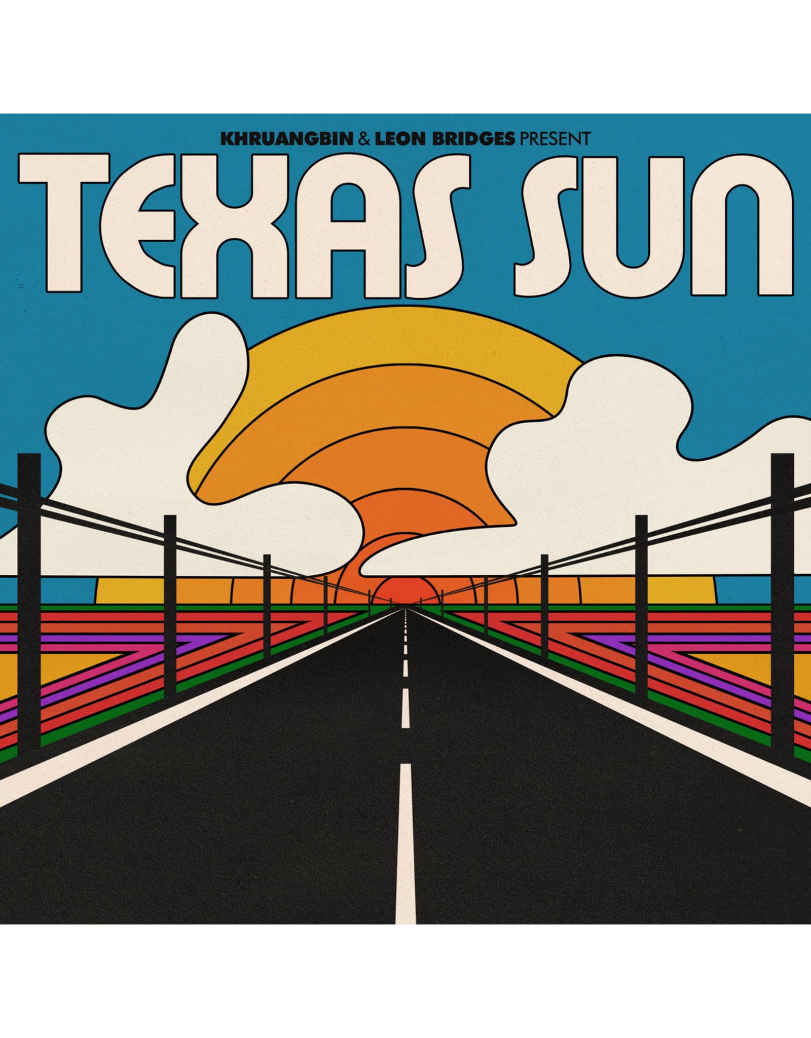 "New Vinyl Khruangbin & Leon Bridges - Present Texas Sun (Colored) EP 12"""