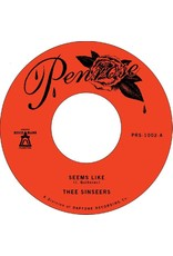 "New Vinyl Thee Sinseers - Seems Like b/w Instrumental 7"""