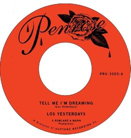 New Vinyl Los Yesterdays - Tell Me I'm Dreaming b/w Time 7""