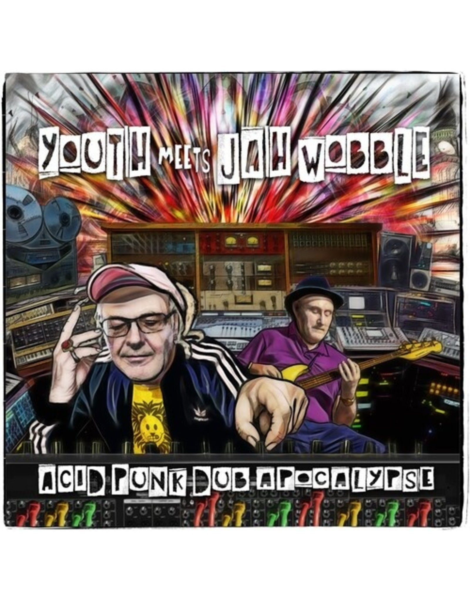 New Vinyl Youth Meets Jah Wobble - Acid Punk Dub Apocalypse LP