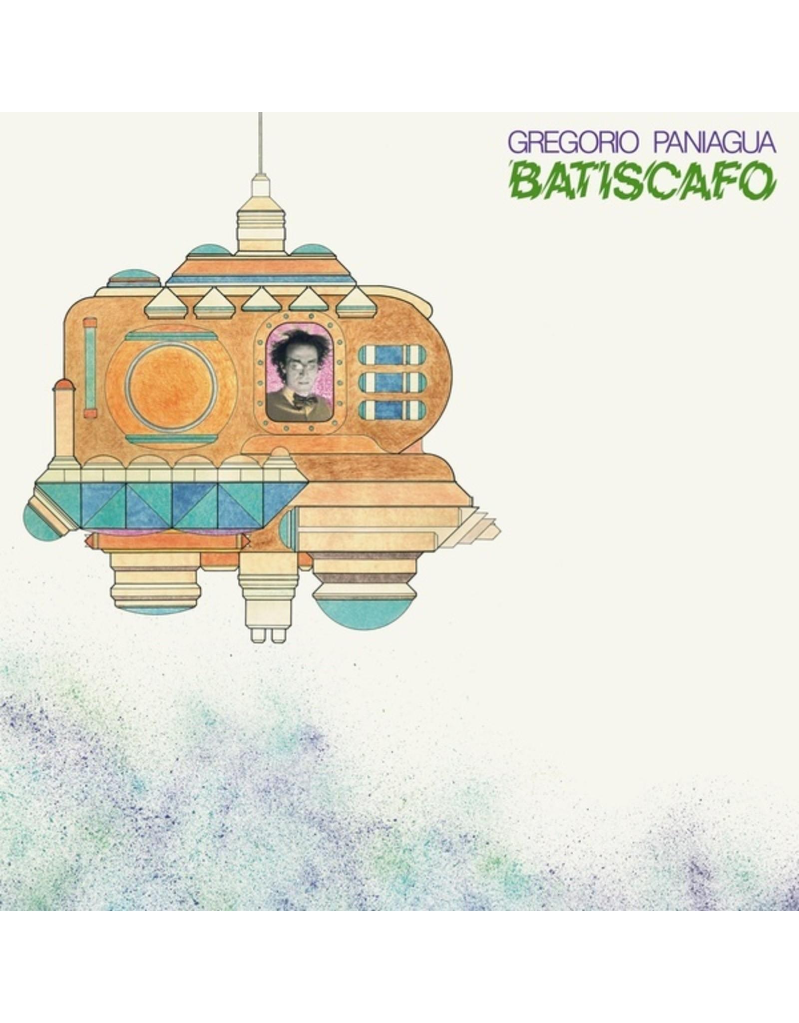 New Vinyl Gregorio Paniagua - Batiscafo LP