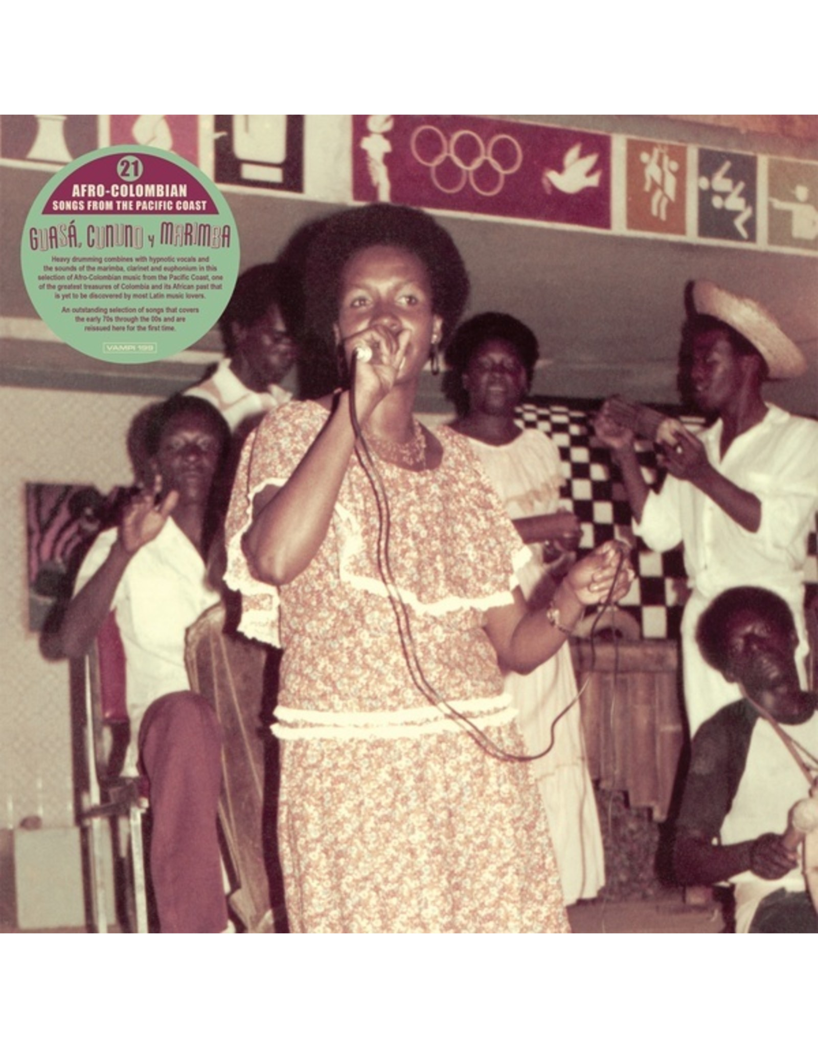 New Vinyl Various - Guasa, Cununo Y Marimba: Afro-Colombian Music From The Pacific Coast 2LP