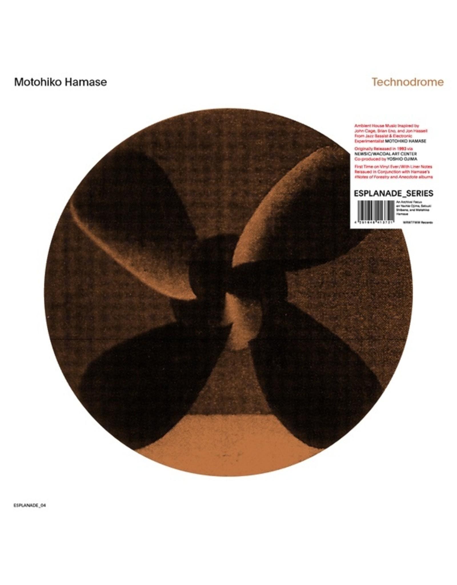 New Vinyl Motohiko Hamase - Technodrome LP