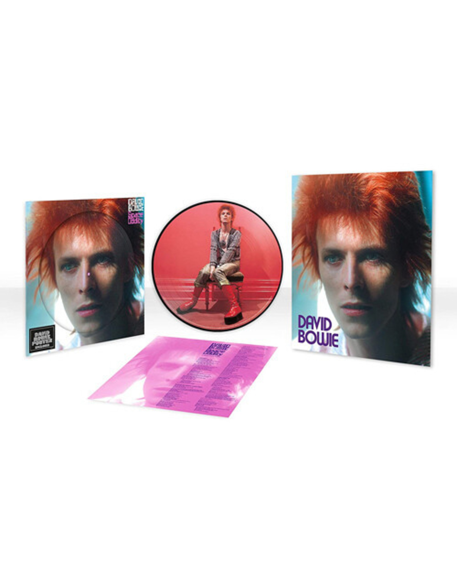 New Vinyl David Bowie - Space Oddity (Picture) LP