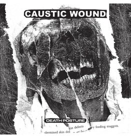 New Vinyl Caustic Wound - Death Posture LP