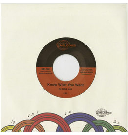 """New Vinyl Gloria Jay - Know What You Want b/w I'm Gonna Make It 7"""""""