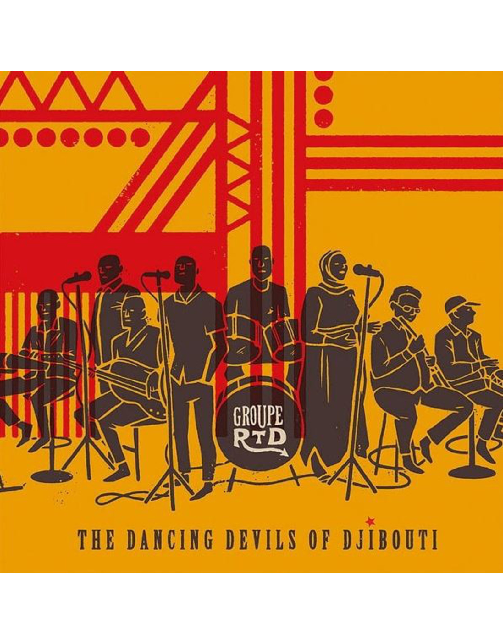 New Vinyl Groupe RTD - The Dancing Devils of Djibouti 2LP
