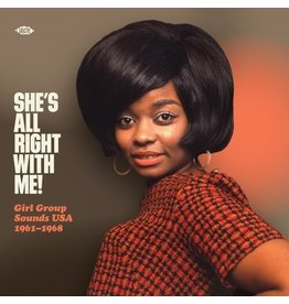 New Vinyl Various - She's All Right With Me!: Girl Group Sounds USA 1961-1968 LP