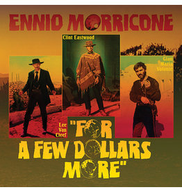 """New Vinyl Ennio Morricone - For A Few Dollars More OST (Colored) 10"""""""