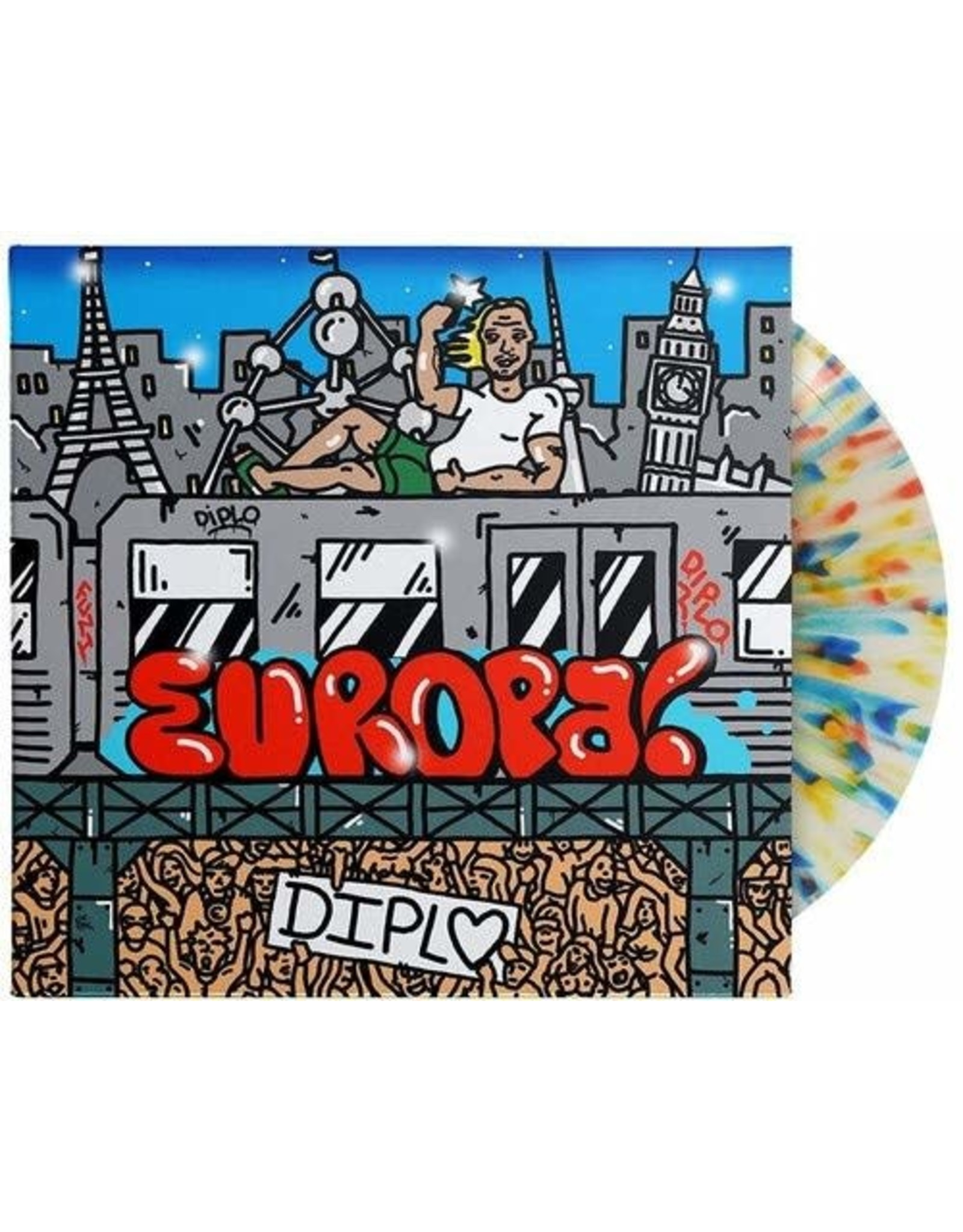 New Vinyl Diplo - Europa! LP
