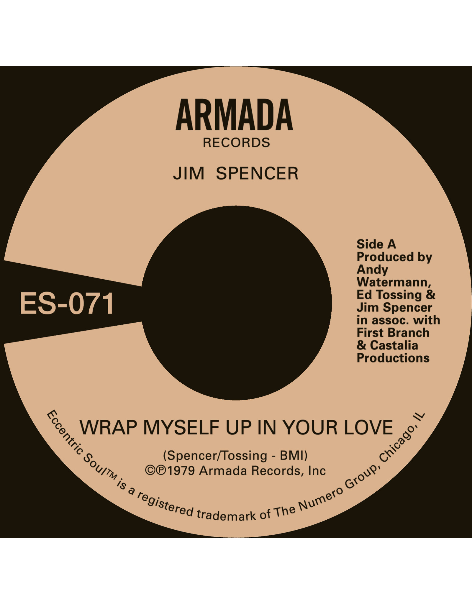 New Vinyl Jim Spencer - Wrap Myself Up In Your Love 7""