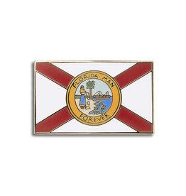 Enamel Pin Florida Man Flag Enamel Pin