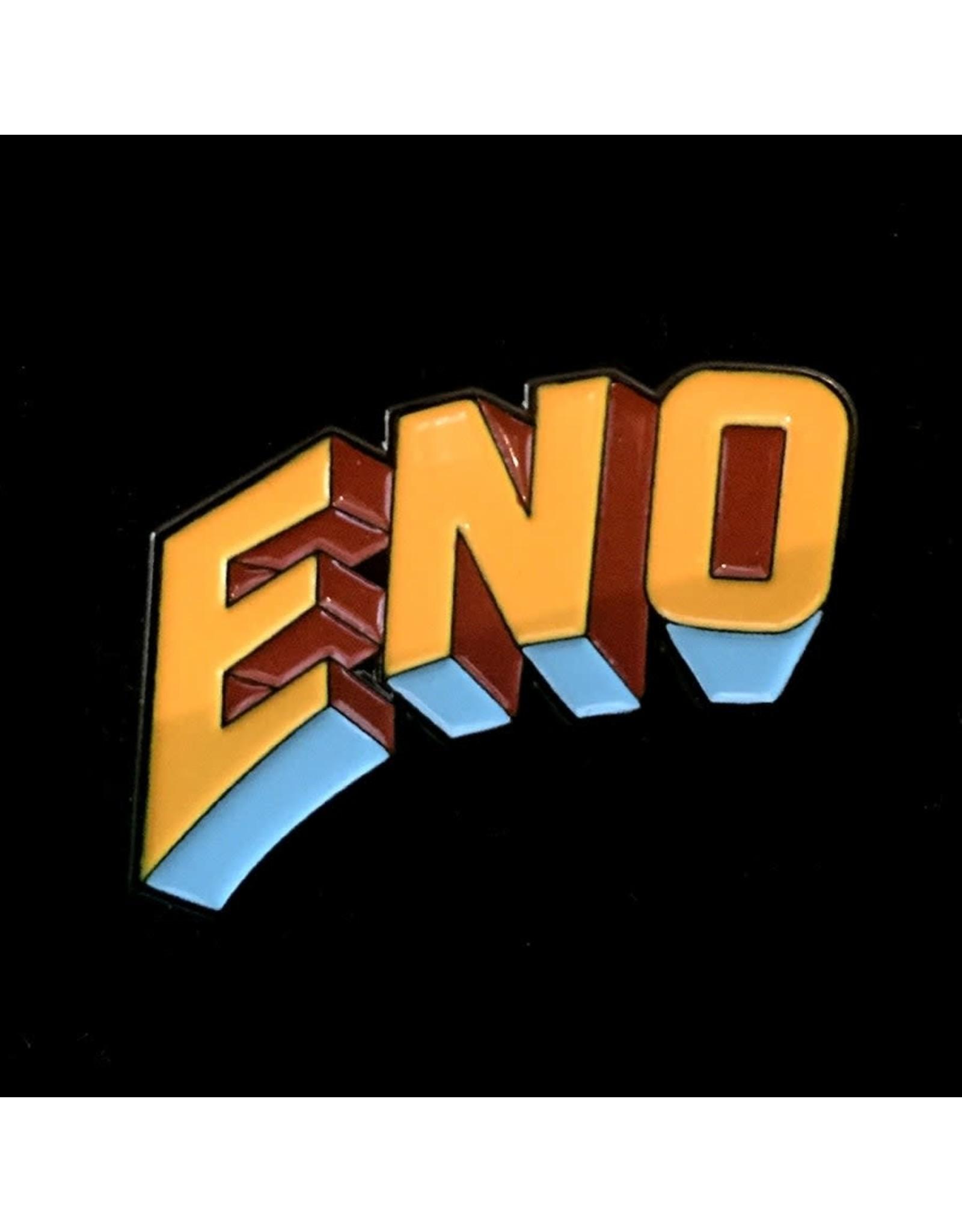 Enamel Pin Brian Eno Warm Jets Logo Enamel Pin