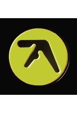Enamel Pin Aphex Twin Logo Enamel Pin (Black on Yellow)