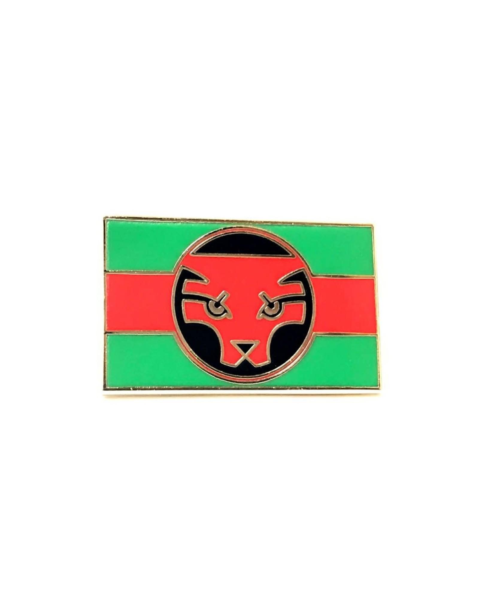 Enamel Pin Black Panther Wakanda Flag Enamel Pin