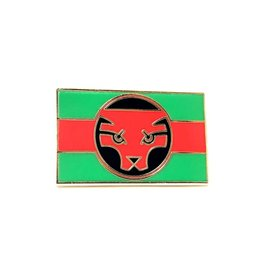 Enamel Pin Black Panther Wakanda Flag Enamel Pin