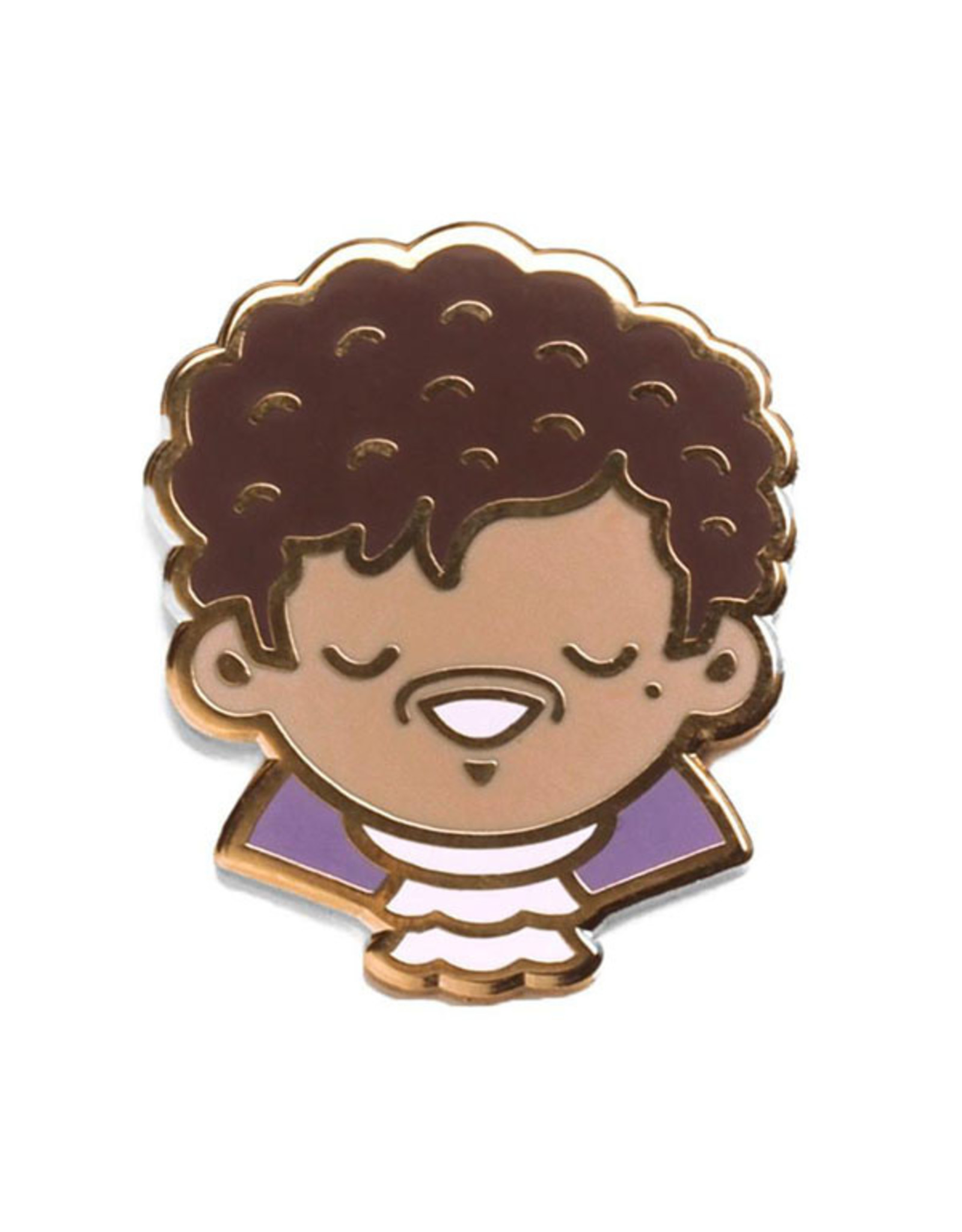 Enamel Pin Prince Purple One Cute Enamel Pin