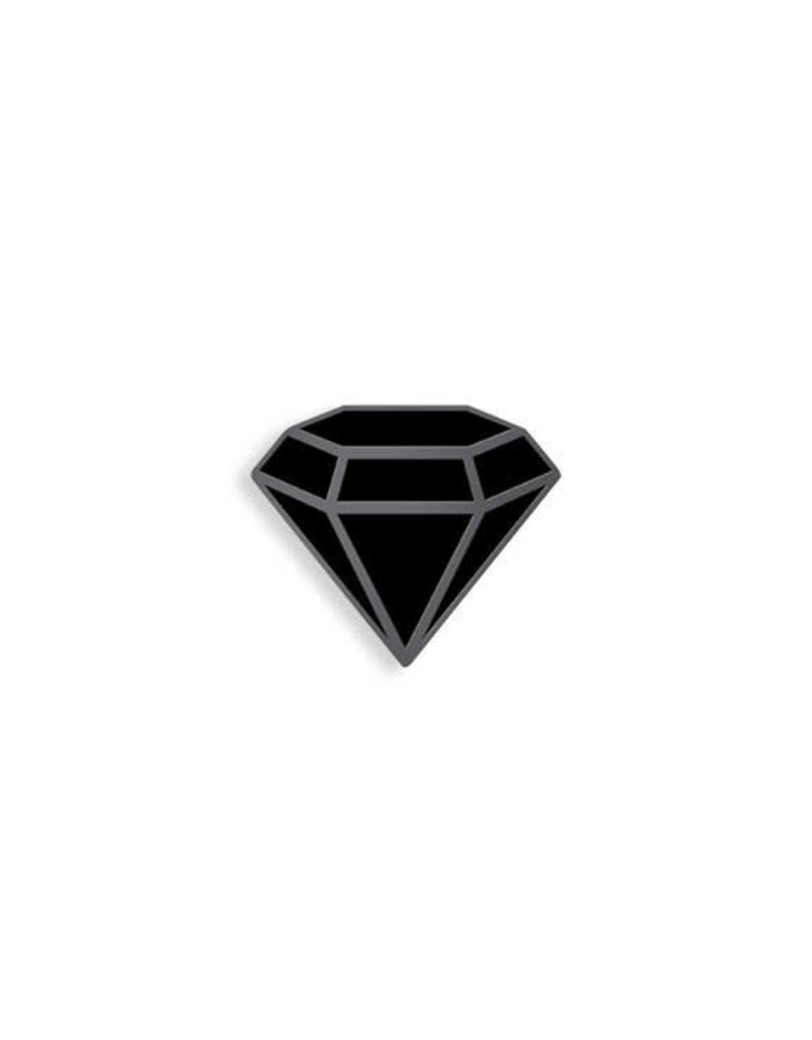 Enamel Pin Black Diamond Enamel Pin