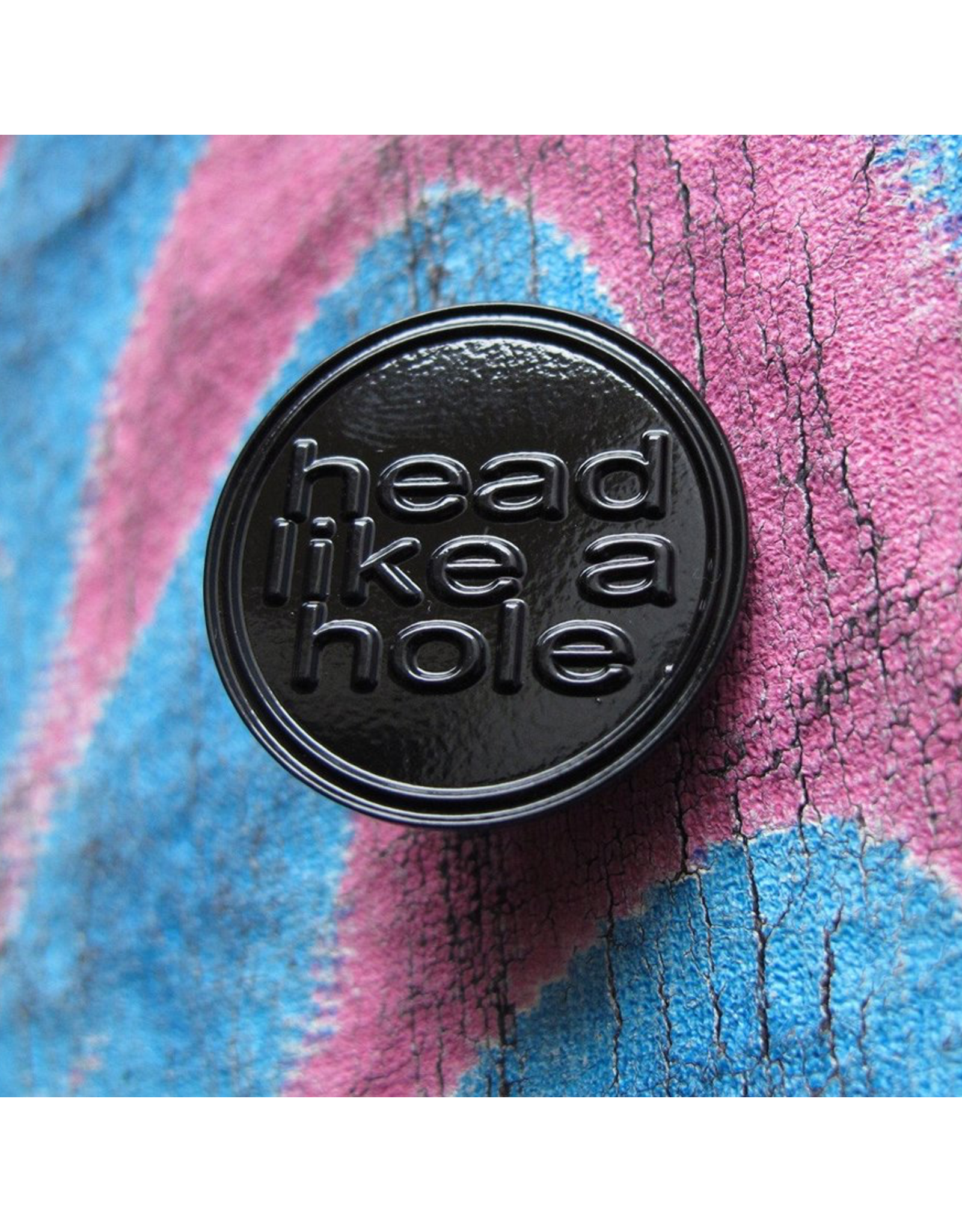 Enamel Pin Nine Inch Nails Head Like A Hole Enamel Pin