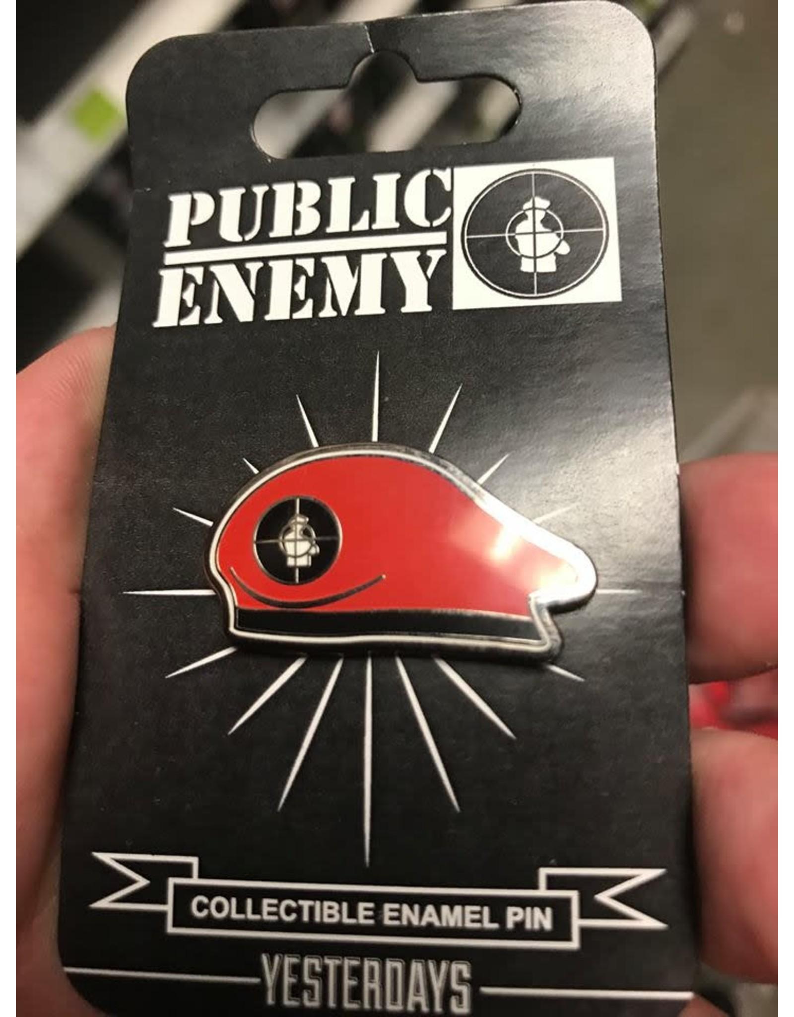 Enamel Pin Public Enemy Beret Pin