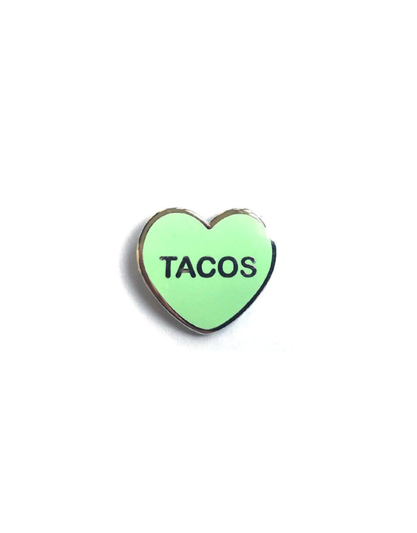 Enamel Pin Tacos Candy Heart Enamel Pin