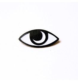 Enamel Pin Moon Eye Enamel Pin