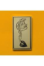 Enamel Pin Kiss of Death Smoke Skull Enamel Pin