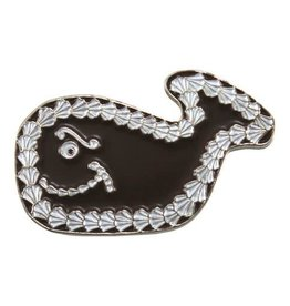 Enamel Pin Fudgie The Whale Enamel Pin