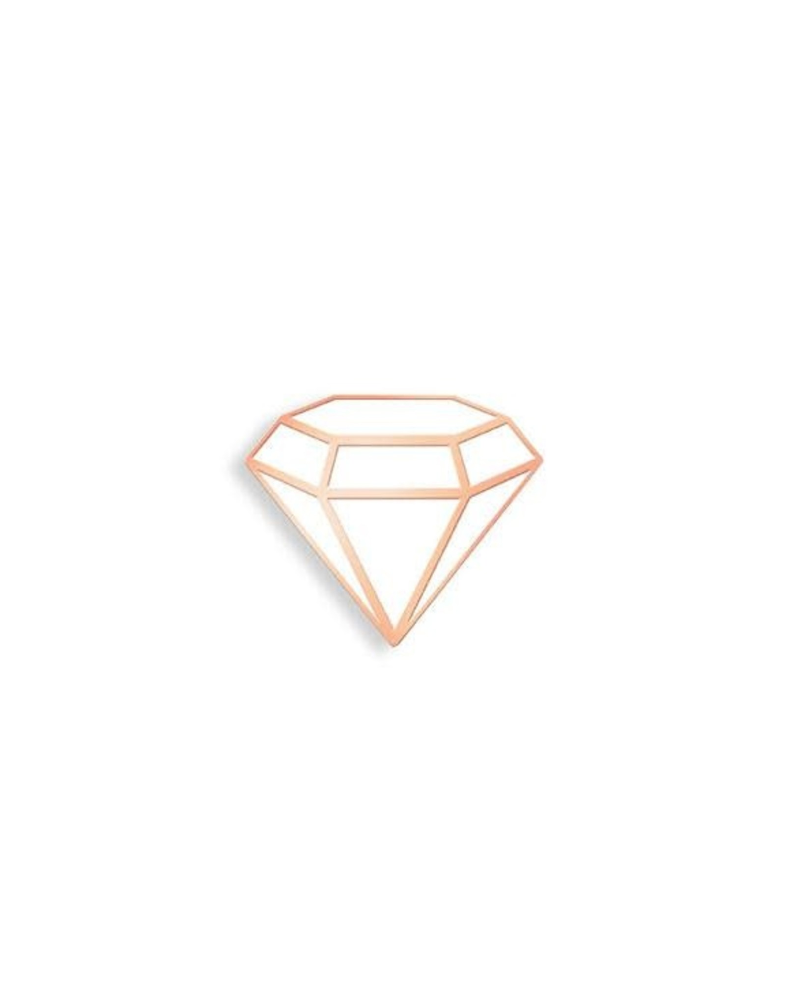 Enamel Pin White Diamond Enamel Pin
