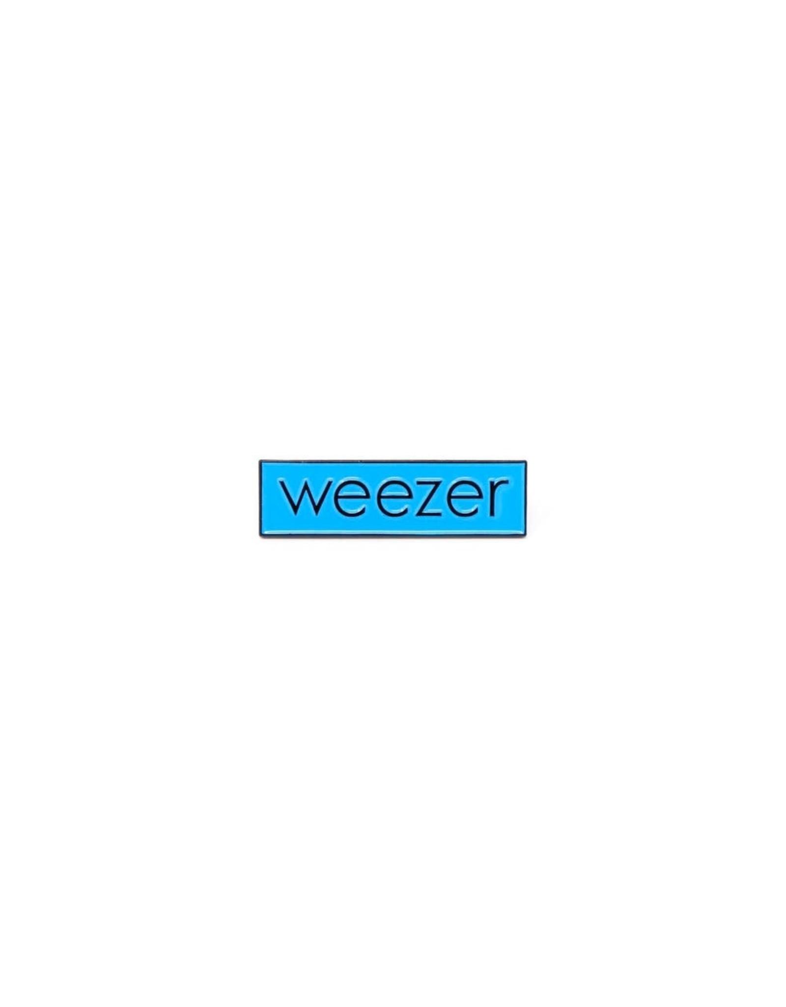 Enamel Pin Weezer Blue Logo Enamel Pin