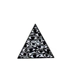 Enamel Pin Eyes Pyramid Enamel Pin