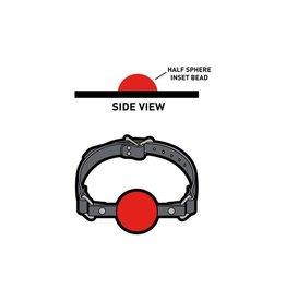 Enamel Pin Red 3D Ball Gag Enamel Pin