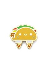 Enamel Pin Space Taco Pin