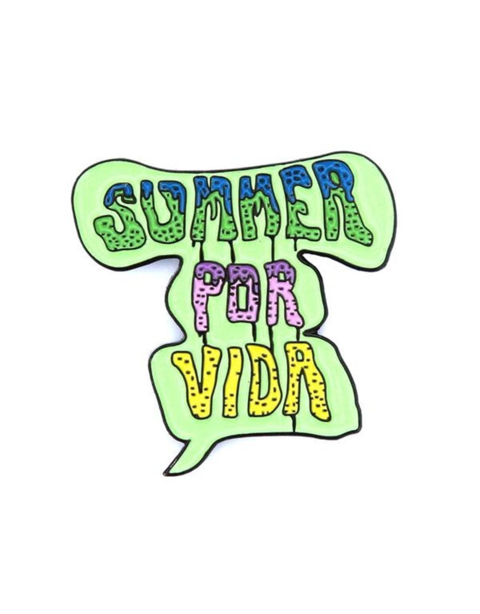 Enamel Pin Summer Por Vida Enamel Pin