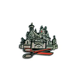 Enamel Pin Edward Scissorhands House Enamel Pin