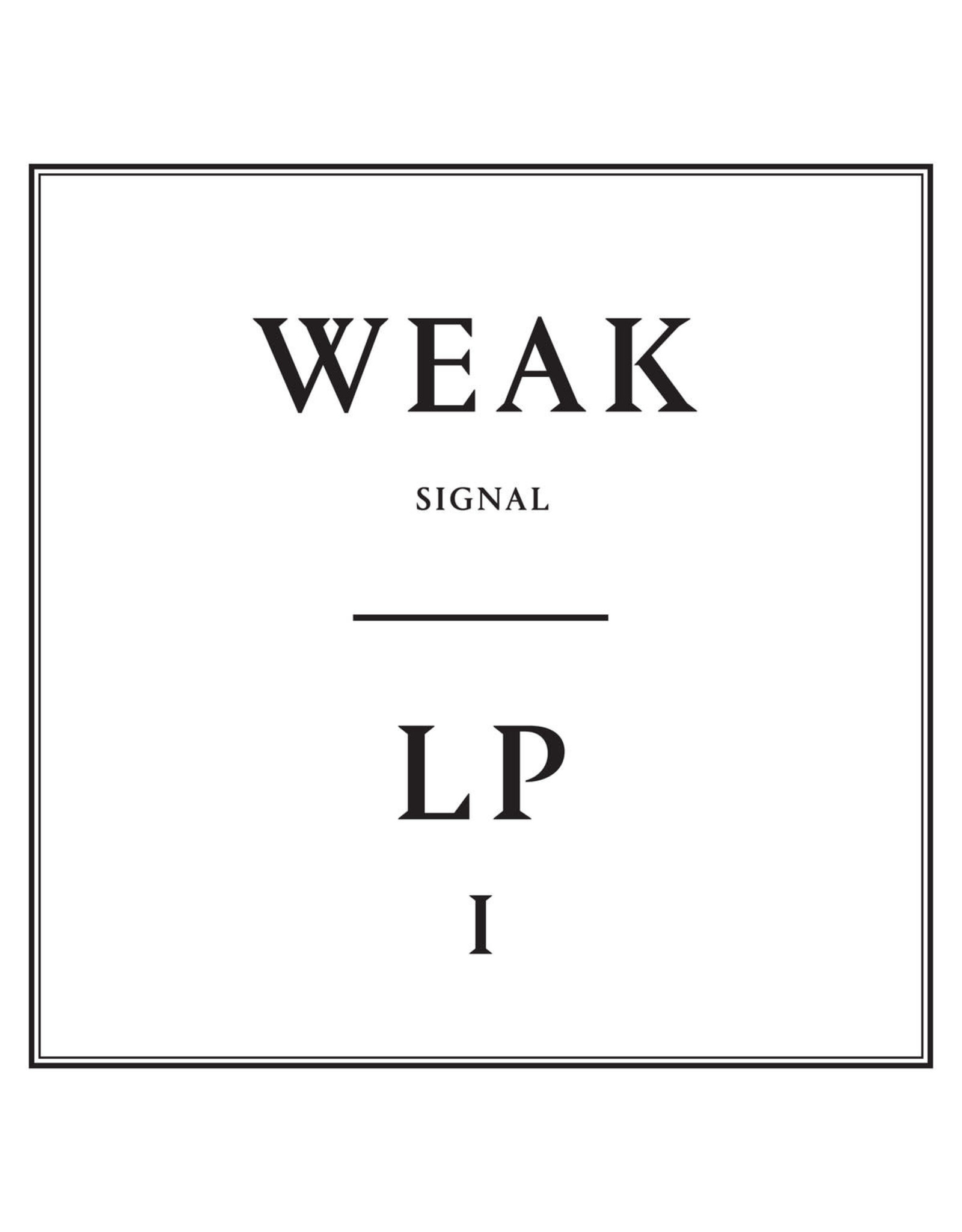 New Vinyl Weak Signal - LP1 LP