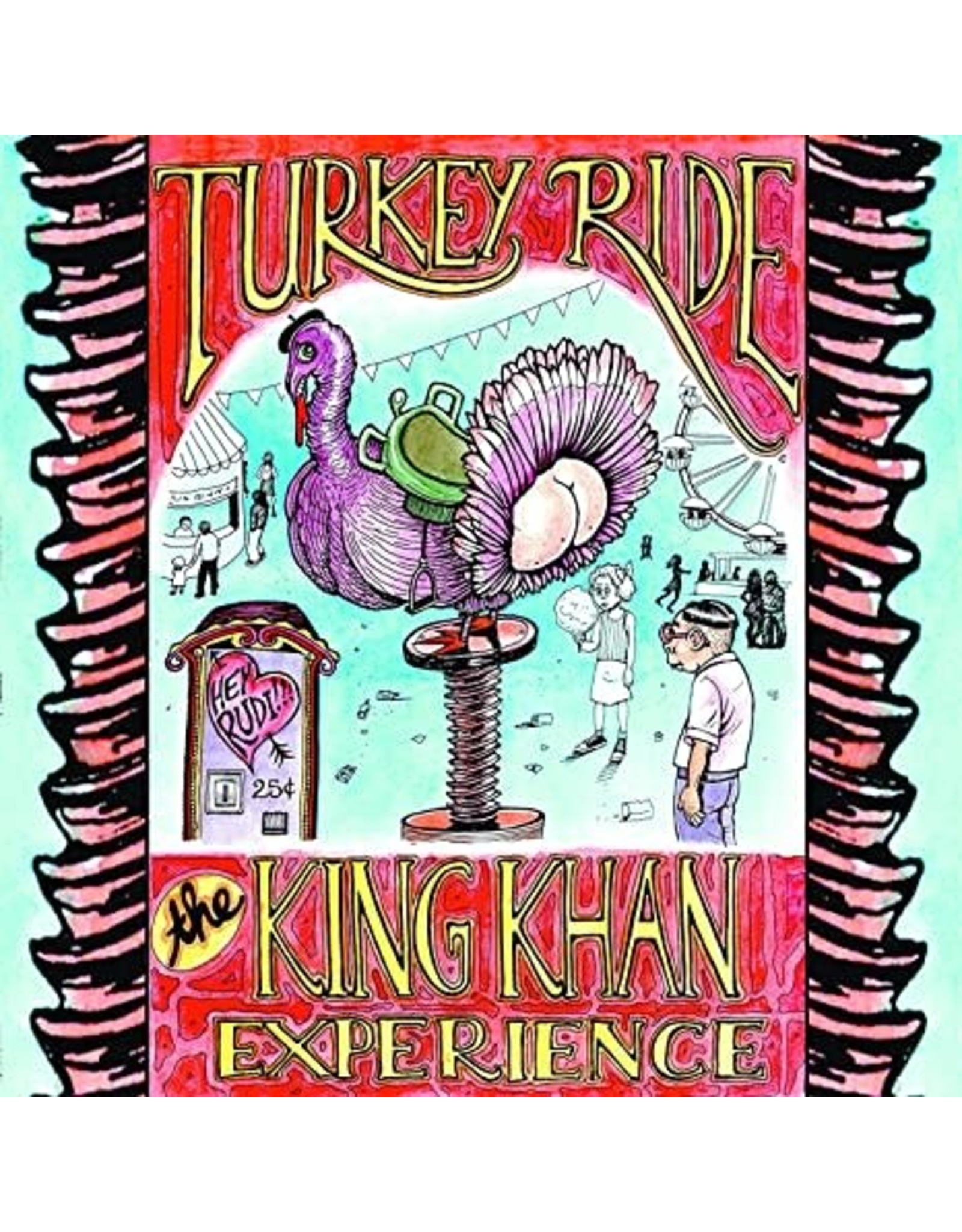 New Vinyl The King Khan Experience - Turkey Ride LP