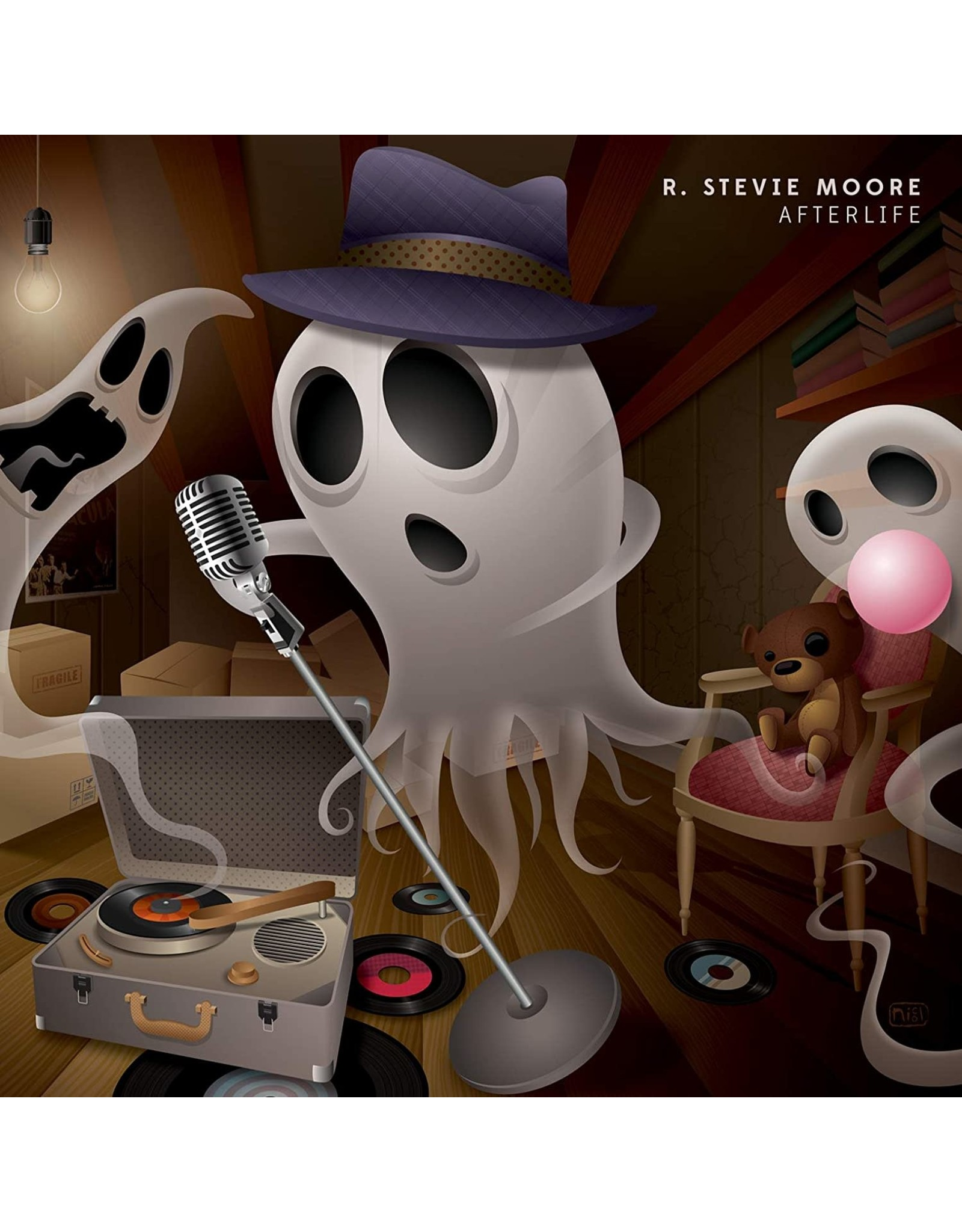 New Vinyl R. Stevie Moore - Afterlife LP