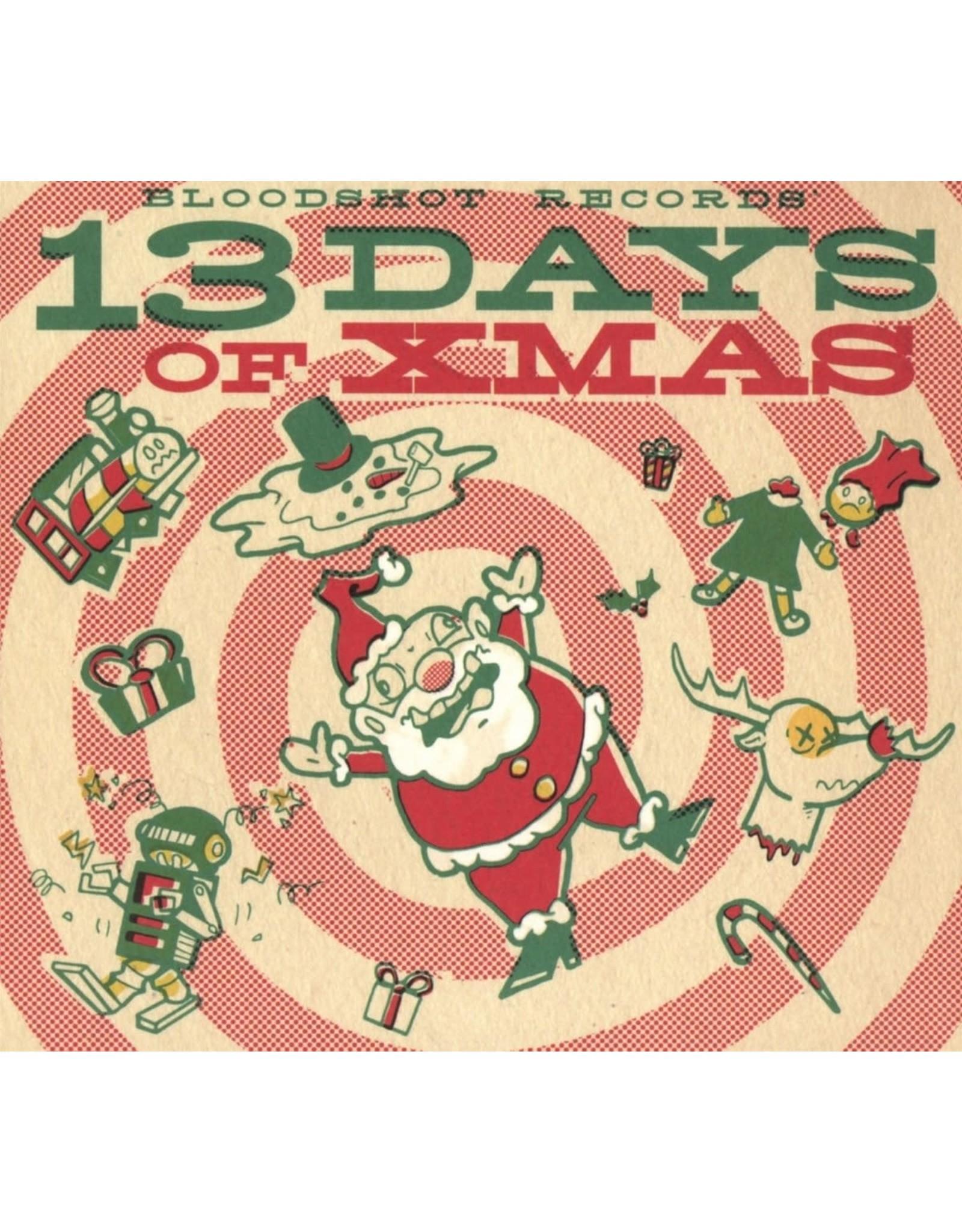 New Vinyl Various - Bloodshot Records' 13 Days Of Xmas LP