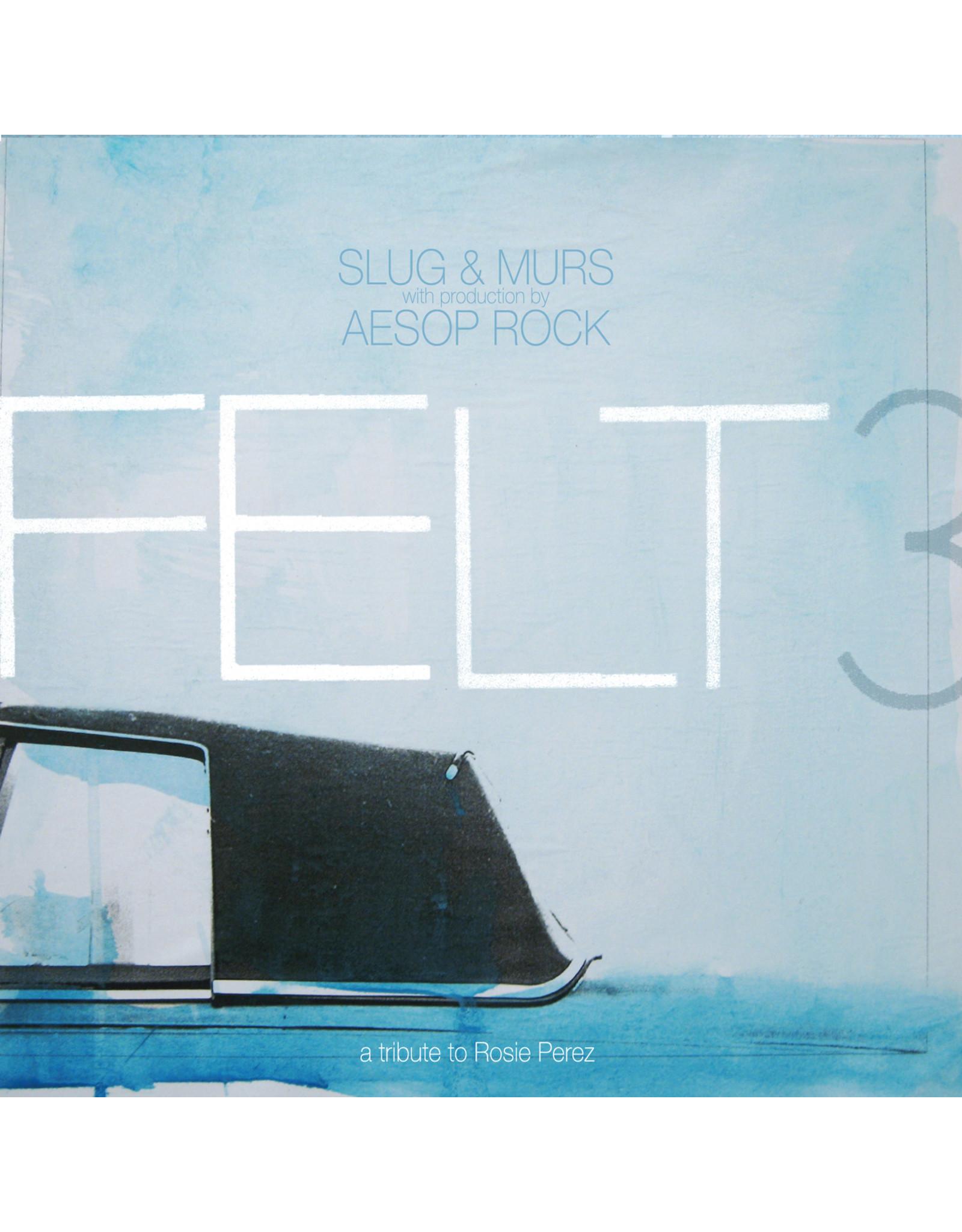 New Vinyl Slug & Murs w/ Aesop Rock - Felt 3: A Tribute To Rosie Perez (10th Anniversary, Colored) 2LP