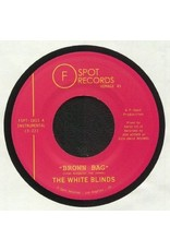 """New Vinyl The White Blinds - Brown Bag b/w Muddy Water 7"""""""