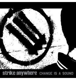 New Vinyl Strike Anywhere - Change Is A Sound (Colored) LP