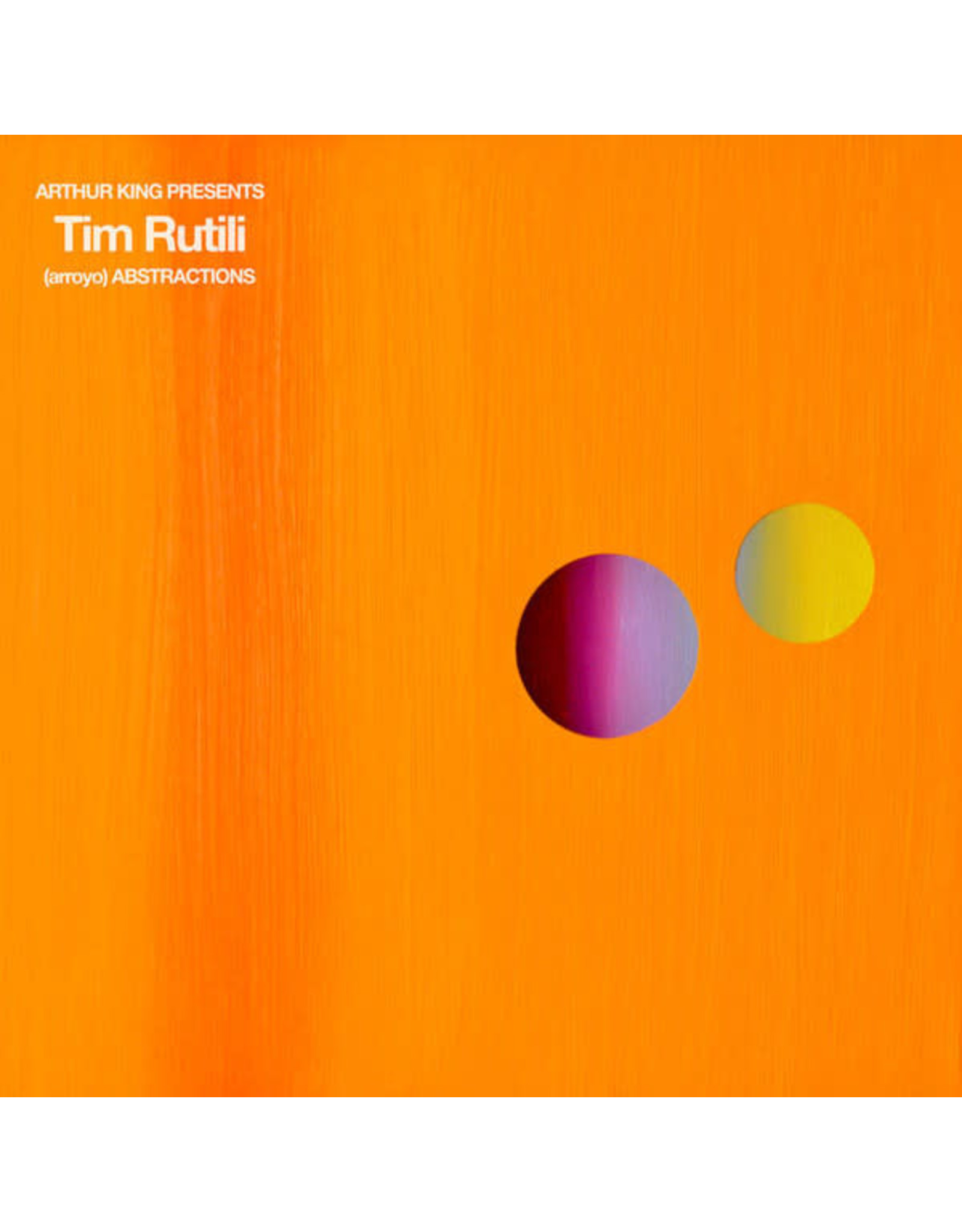 New Vinyl Tim Rutili - (arroyo) ABSTRACTIONS LP